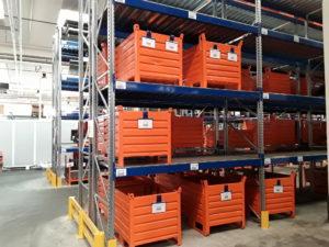 magazzini , casse metalliche, buste magnetiche , identificazione qualità, rintracciabilità, kanban, lean