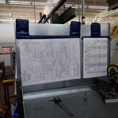 portadisegni magnetico, busta formato A3, disegno tecnico magnetico, a3