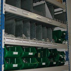gomma magnetica per magazzino, scaffalatura magnetica, profilo gomma magnetica con trasparente protettivo